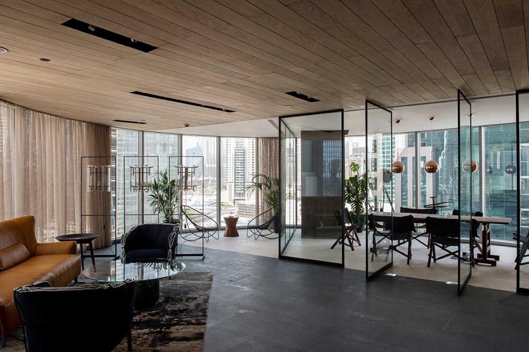 Dubai, Industrial design, Interior design, KOA, Office design, T.Zed Architects, United Arab Emirates