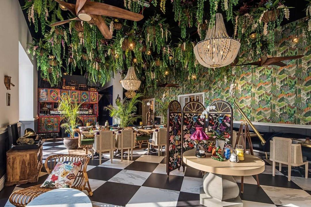 Dubai, Indian architecture, Interior design, Interiors, Restaurant design, Stickman Tribe