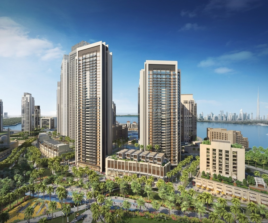 Architecture, Dubai Creek, Emmar Properties, Jumeirah Village Circle. residential design in Dubai, Residential Development, Ssh