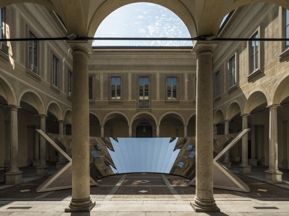 COS, Design, Installation, Milan design week, Milan Design Week 2018, Palazzo Isimbardi, Phillip K. Smith III, Salone Del Mobile