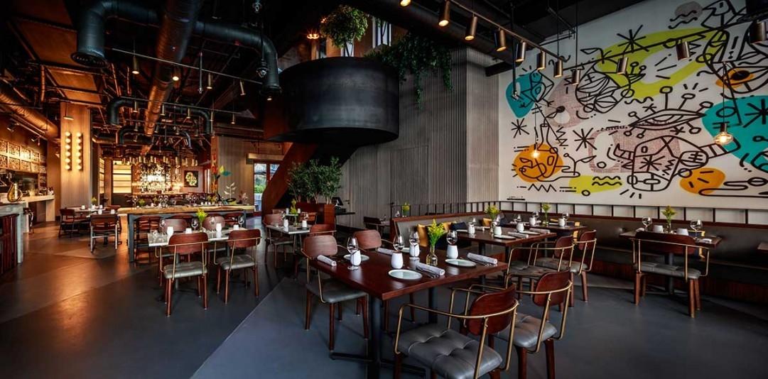 Bishop Design, Dubai, Food and beverage design, Graphics, Industrial design, Interior design, Interiors, Restaurant design