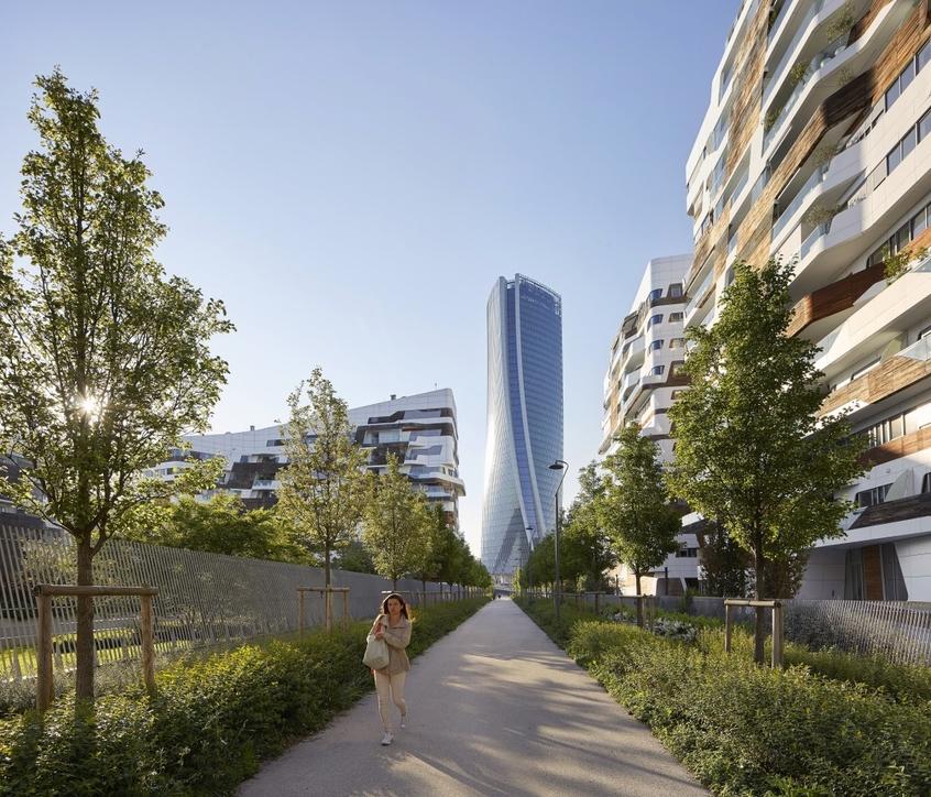 Architecture, Generali Tower, Milan, Milan design week, Skyscrapers, Zaha Hadid Architects