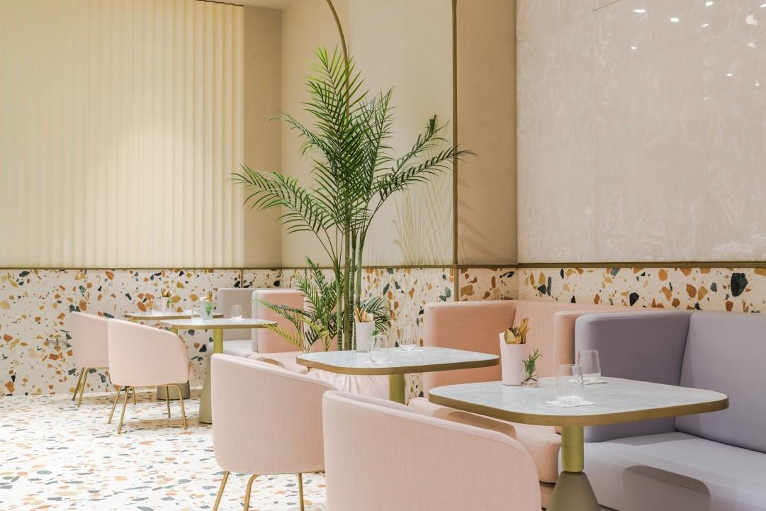 Dubai, H2R, Interior design, Interiors, Terrazzo, The Dubai Mall