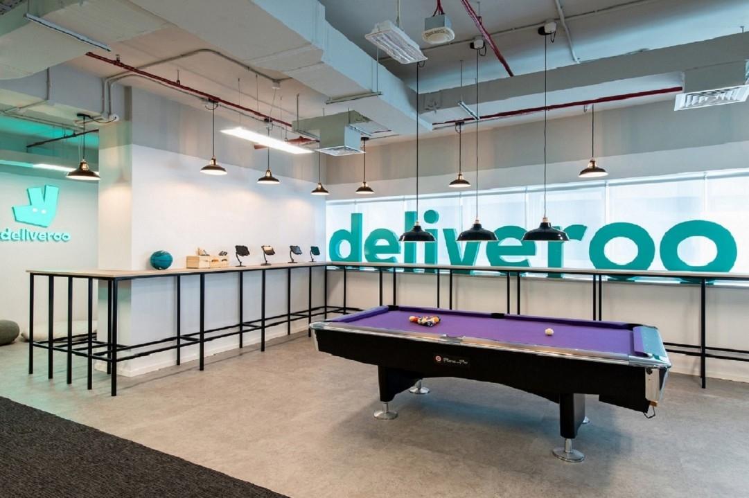 Deliveroo, Design, Interior design, Summertown Interiors, UAE office spaces