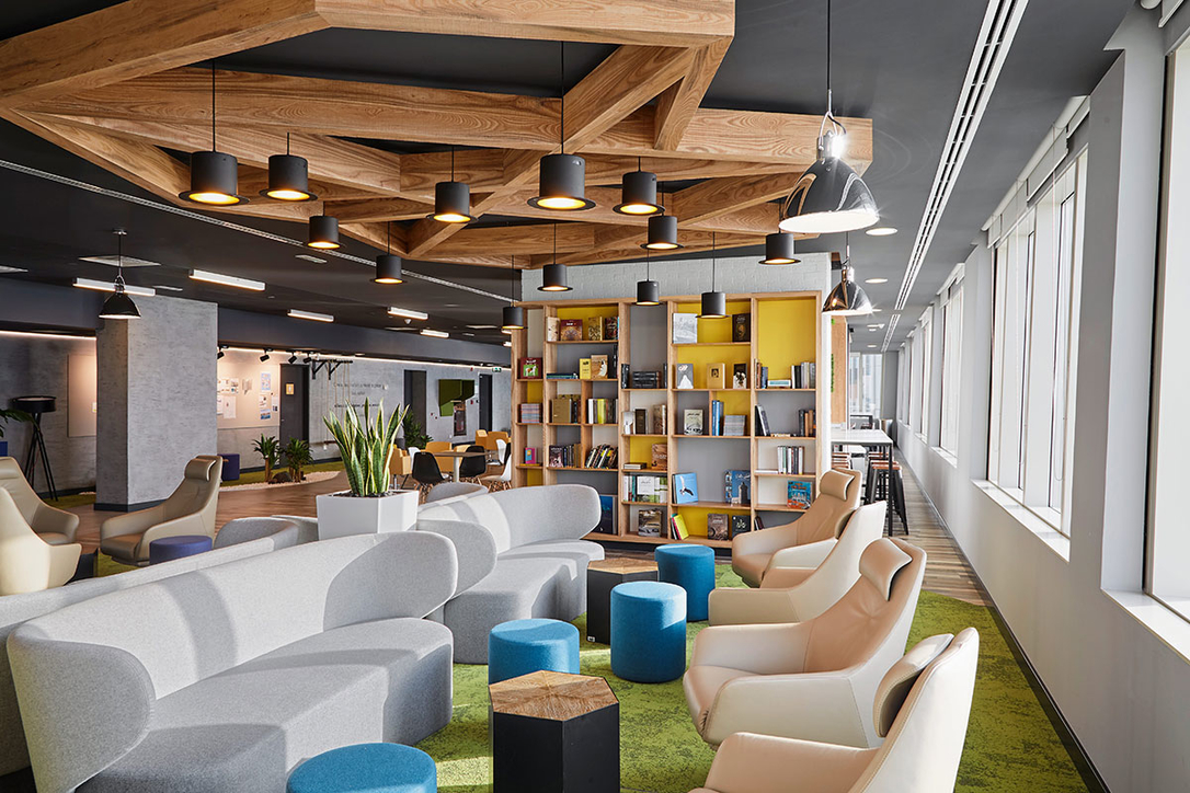 Broadway Interiors, Office Interiors, Office design, Workplaces