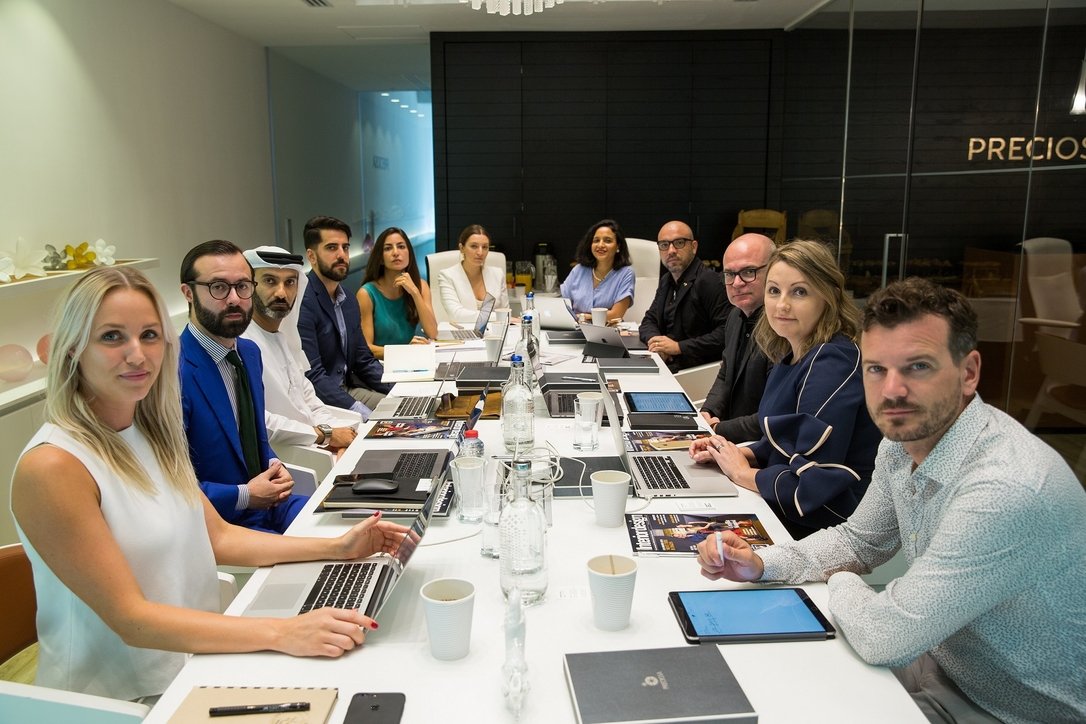 Commercial Interior Design Awards 2018 judges meeting