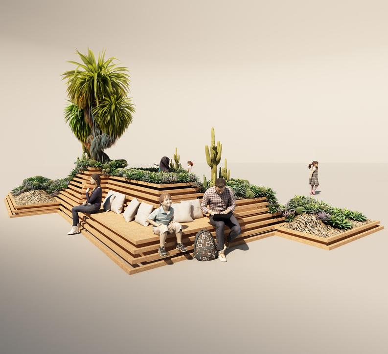Installation, Downtown design, Desert INK, Landscape design, Dubai Design Week, Dubai Design Week 2018