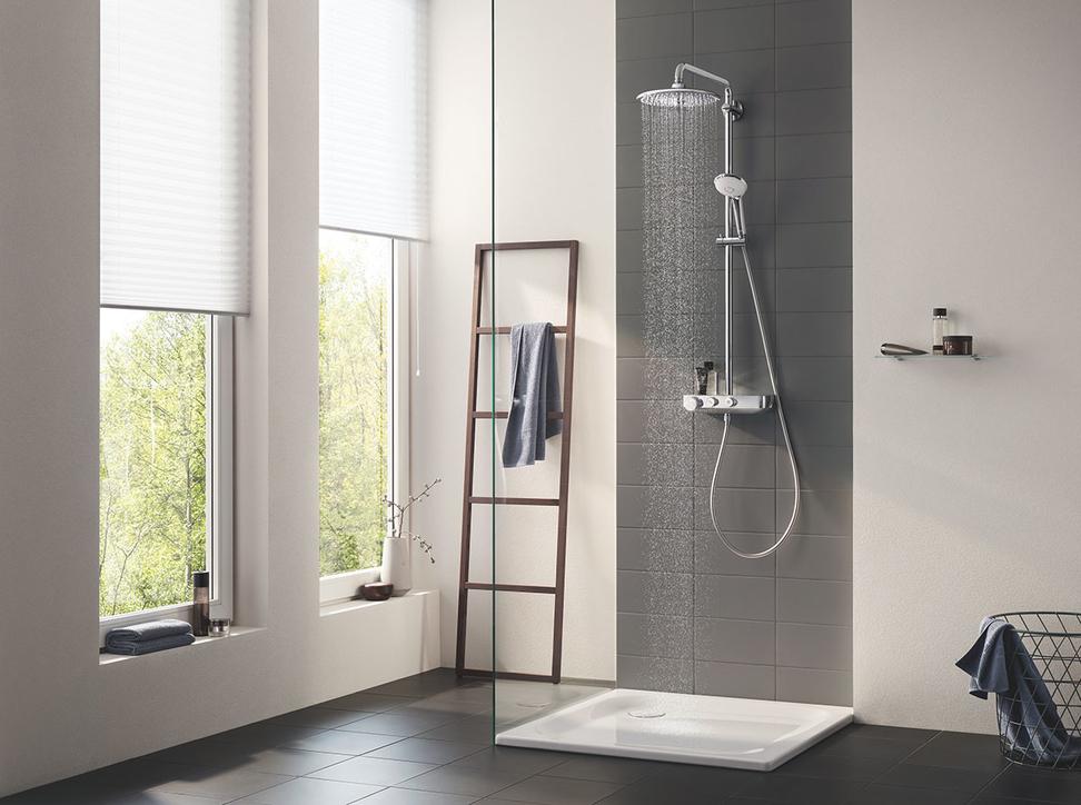 Euphoria SmartControl shower system.