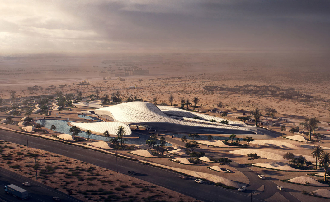 Zaha Hadid Architects, Bee'ah, Sharjah, Architecture, Artificial Int, Technology