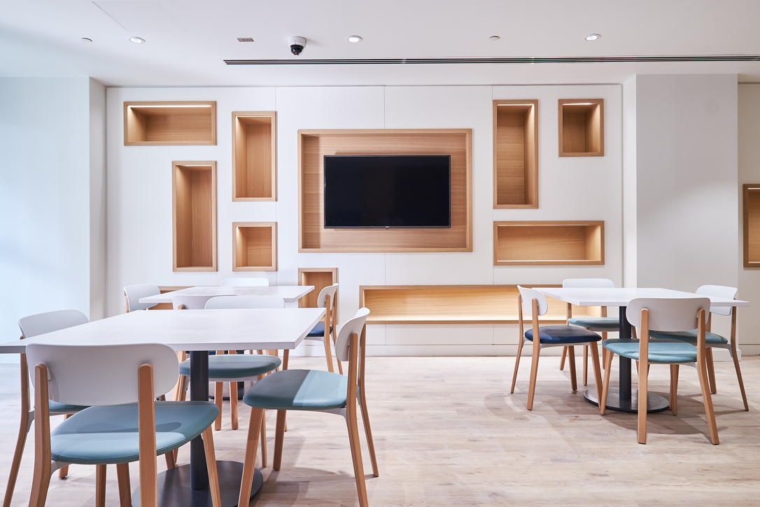 Fit-out, ISG, Perkins+Will, Office design, Workplace