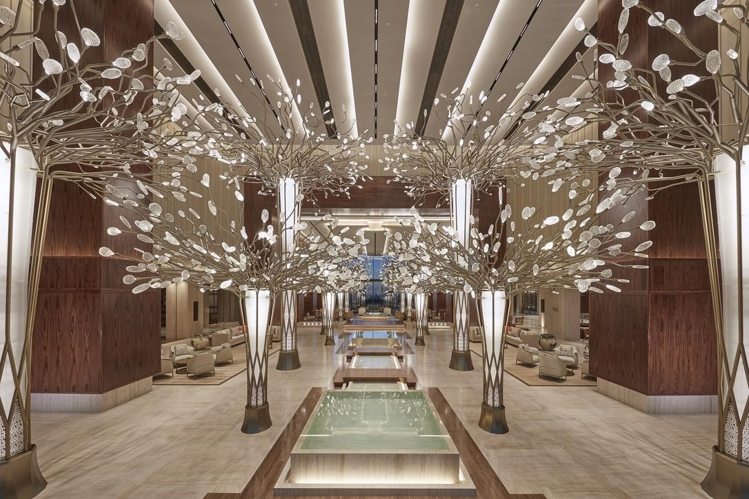 Mandarin Oriental Jumeirah, Hotel design, Hotel interiors, Jeffrey Wilkes, Dubai