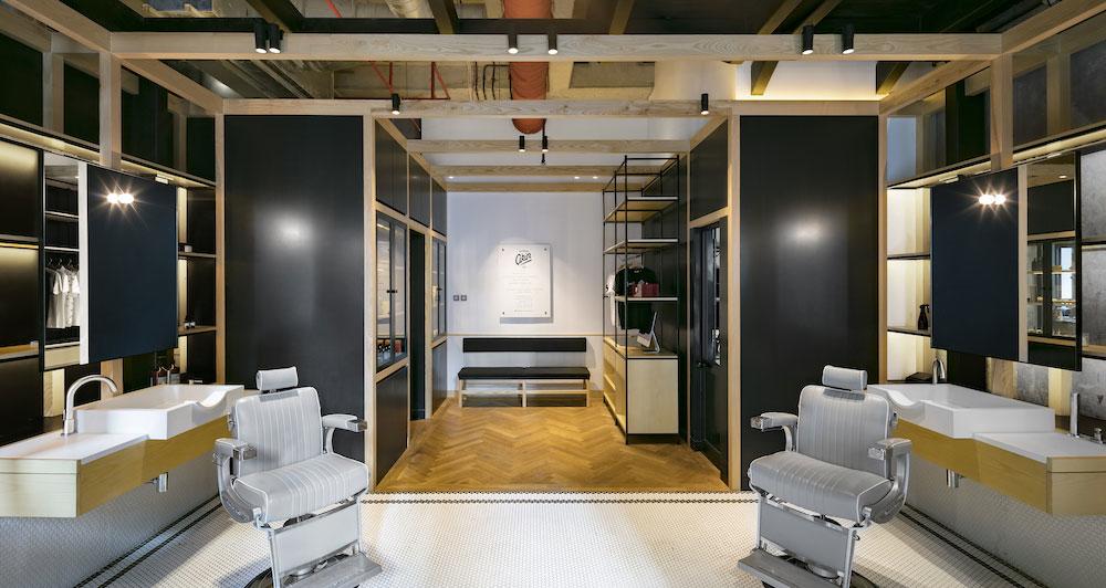 Anarchitect, Dubai, Barbershop, Interiors, Wood