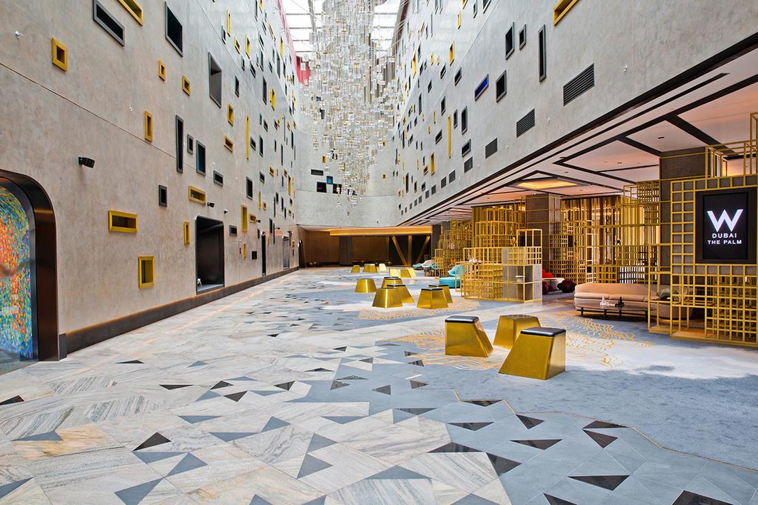 W Dubai, W Hotels, Hotel design, Hotel interiors, Hotels, Dwp, Dubai