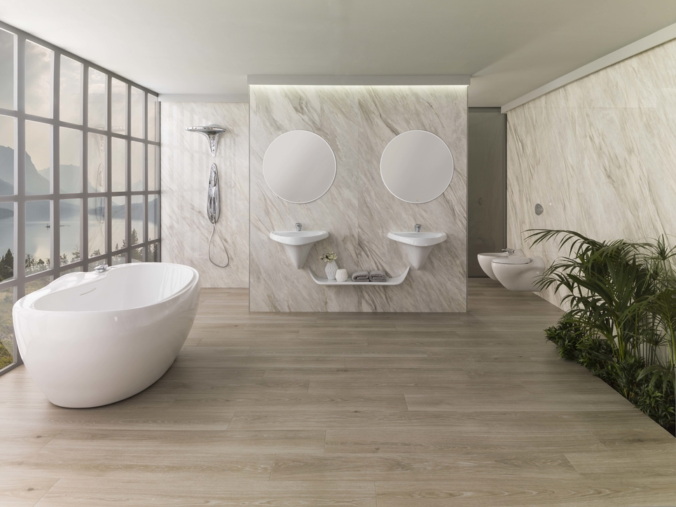 Porcelanosa, Bathroom design