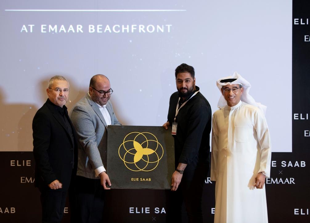 Elie Saab Dubai interiors, Luxury fashion interiors, Dubai luxury real estate, Dubai beachfront development
