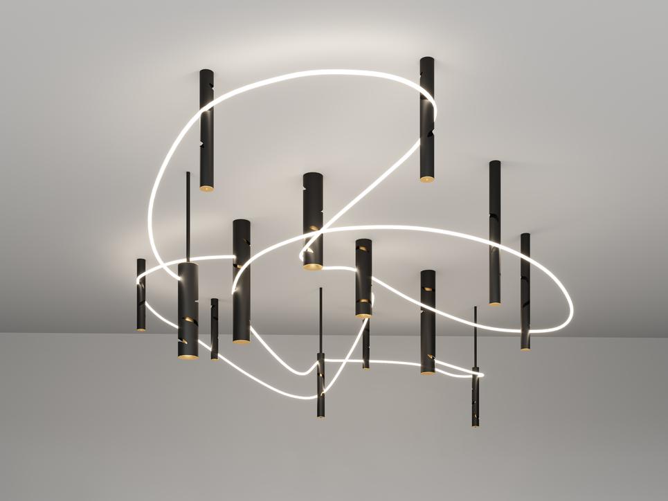Pallavi Dean, Roar, Artemide, Lighting design, Euroluce2019, Salone del Mobile 2019