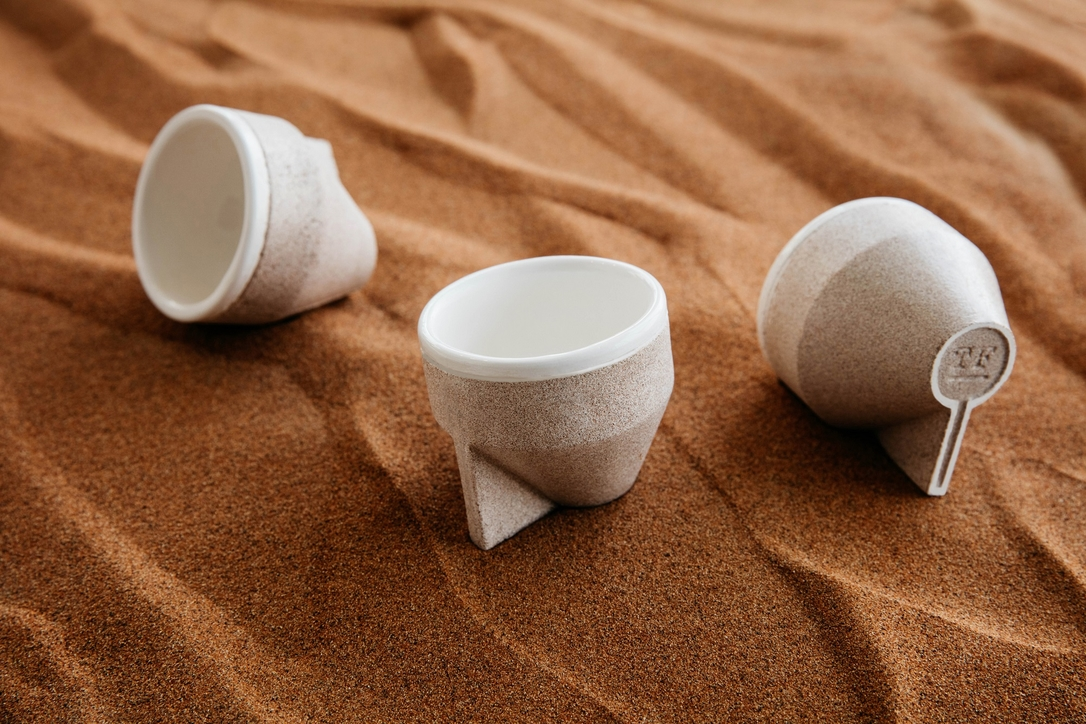 Materials, Product design, Sand, Tinkah, The Foundry, Milan design week, Emirati Culture