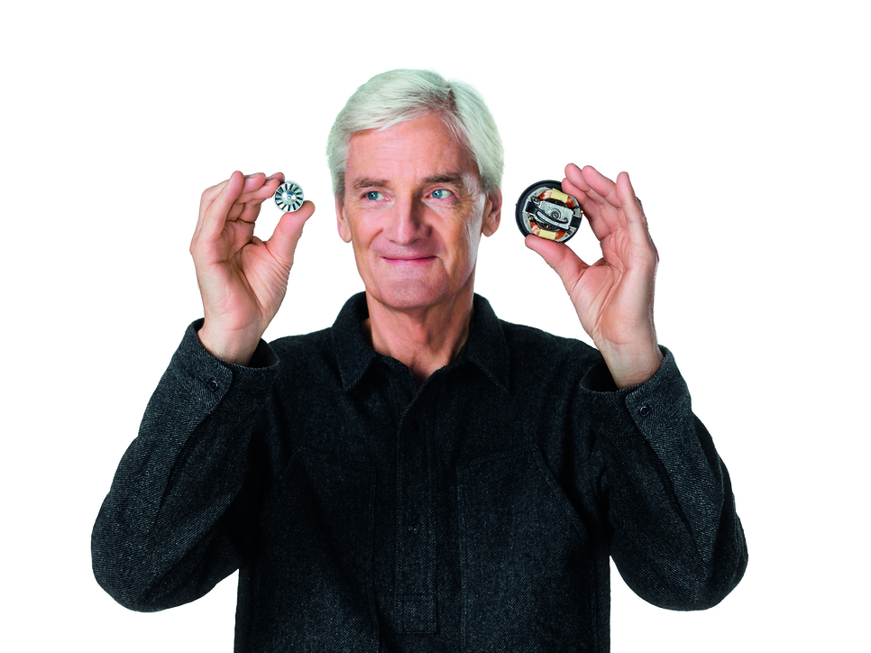 James Dyson founded British technology company Dyson in the 90s.