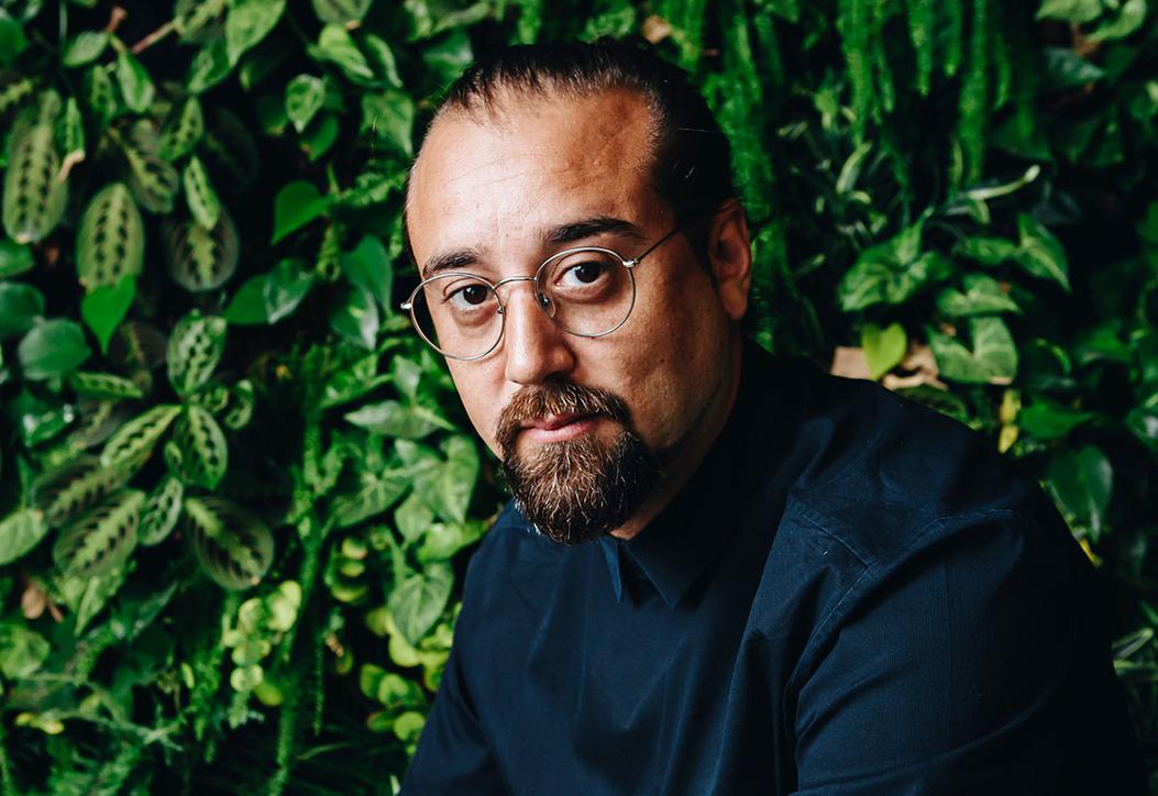 Omar Ghafour, founder and creative director of Dubai-based Light Space Design
