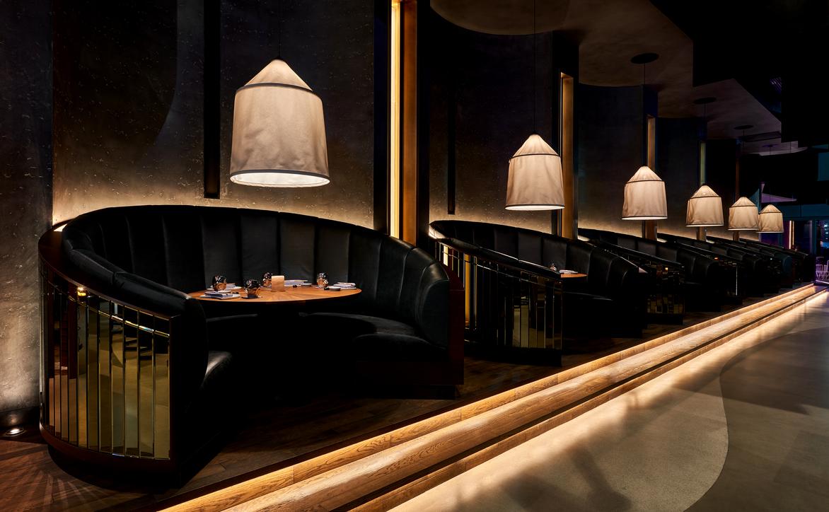 Akira Back is one of the restaurants designed by Keane for W Dubai.
