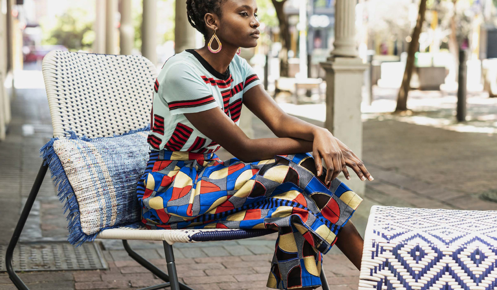 Överallt is a limited edition collection of African-inspired furniture from IKEA.