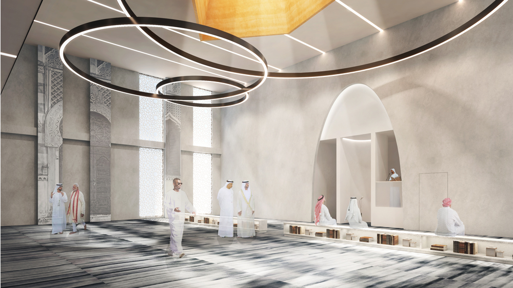 The Kristina Zanic-designed mosque is the consultancy's first in the kingdom.