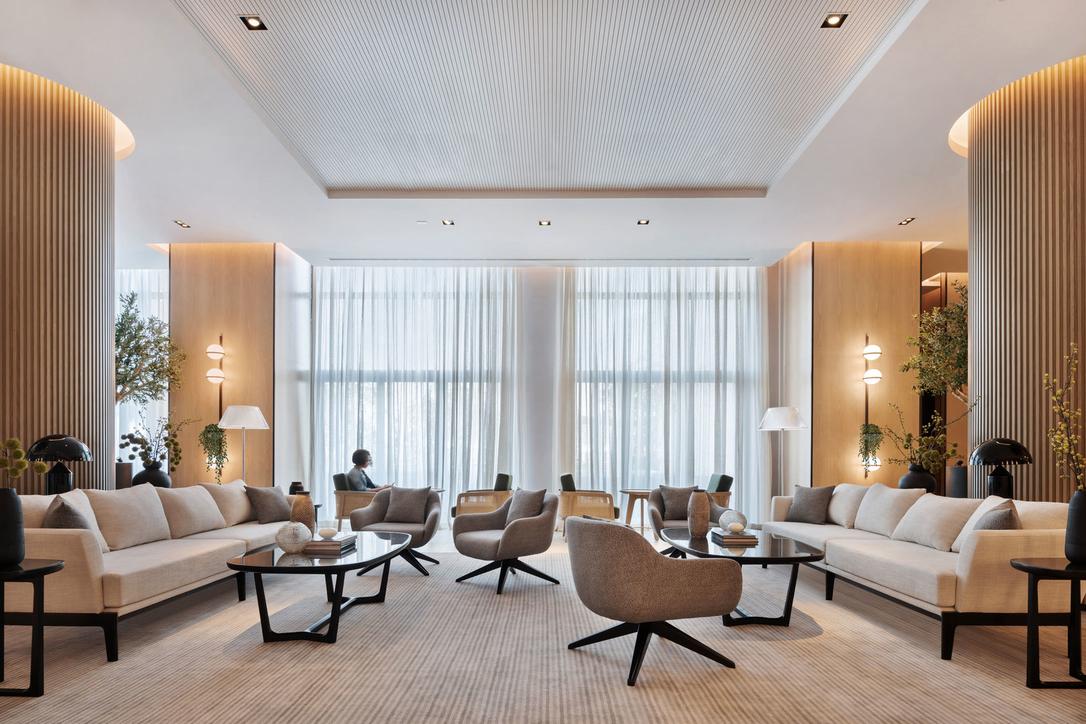 Hotel design, Lulie Fisher Design Studio, Vida Hotel, Dubai