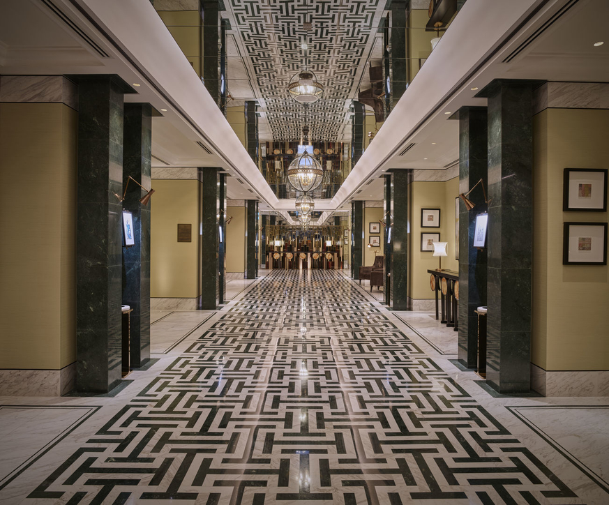 Waldorf Astoria, Waldorf Astoria DIFC, Smallwood, Reynolds, Stewart, Stewart (SRSS), Hotel design, Hotels, Dubai