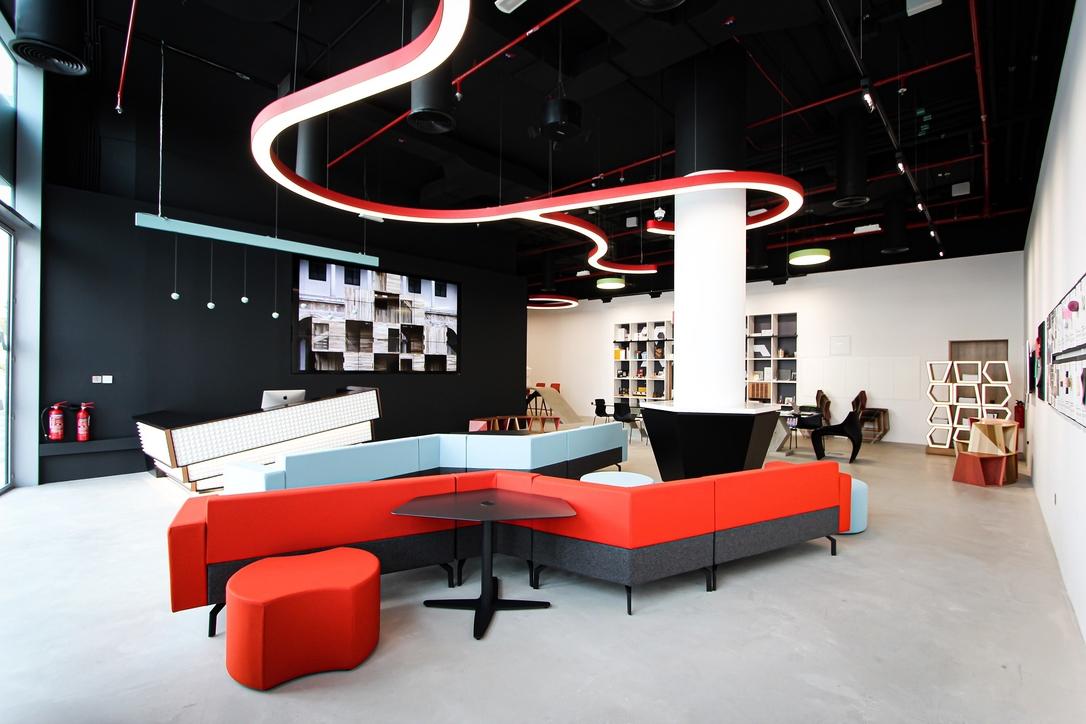 Materials library, Colab, Dubai Design District, Material ConneXion, Materials