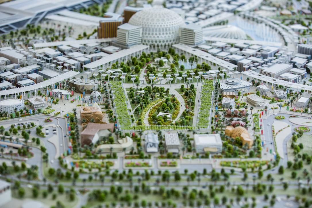 Expo 2020 Dubai, Green design, Landscaping