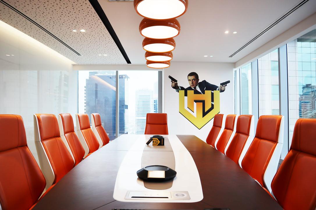 Verve Design, Cinema, Dubai office design