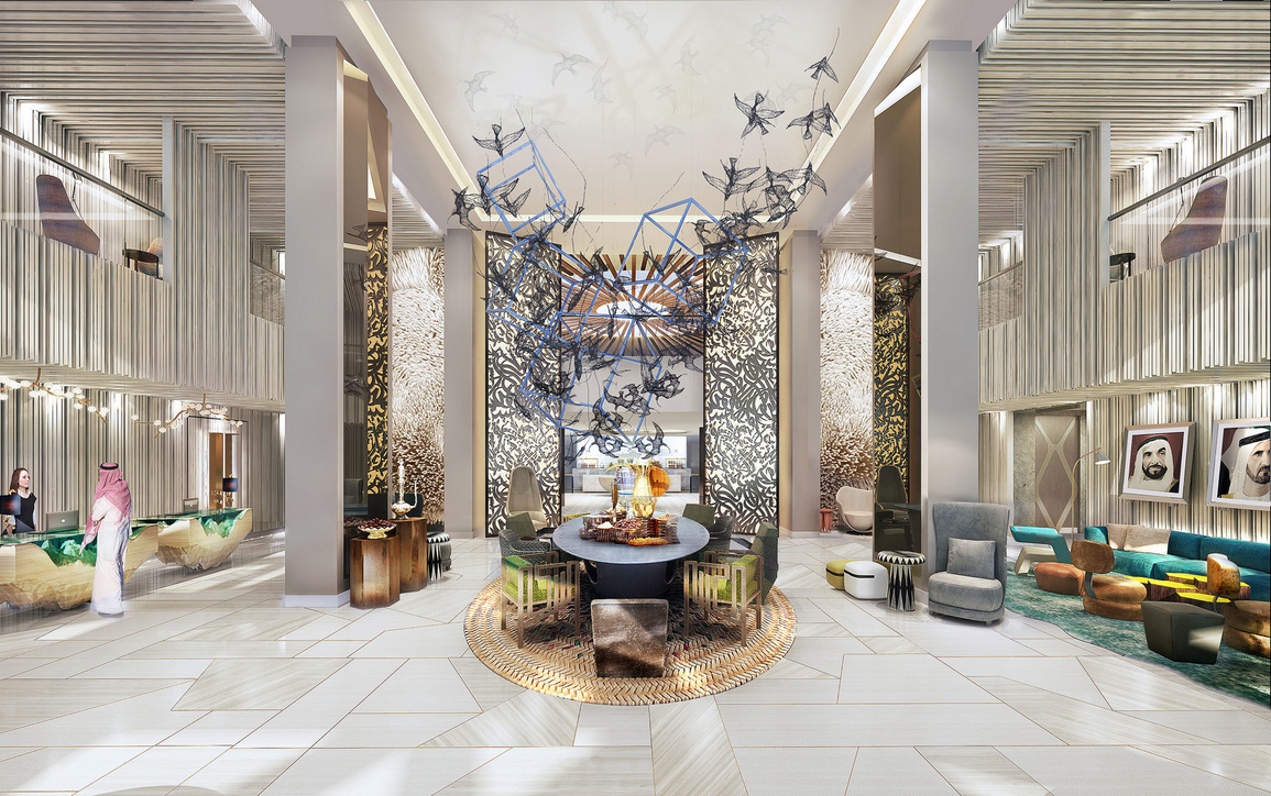 Andaz the Palm, Hotels, Hotel design, Dubai