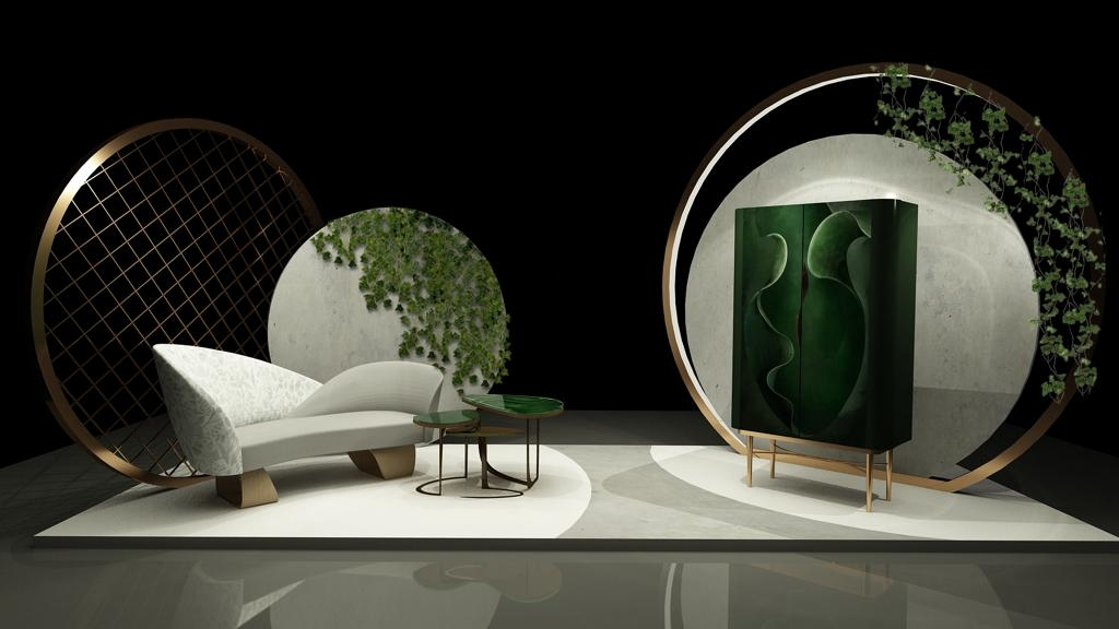 Furniture collection, Downtown Dubai, Interspace, Melani Sabhaney, Furniture