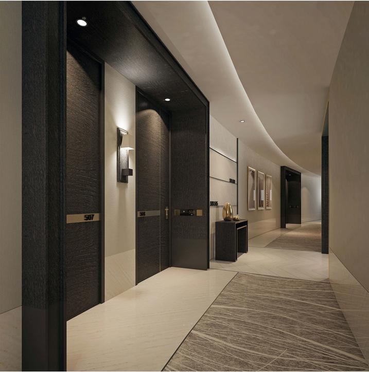 Address Sky View, Dubai, Hospitality design