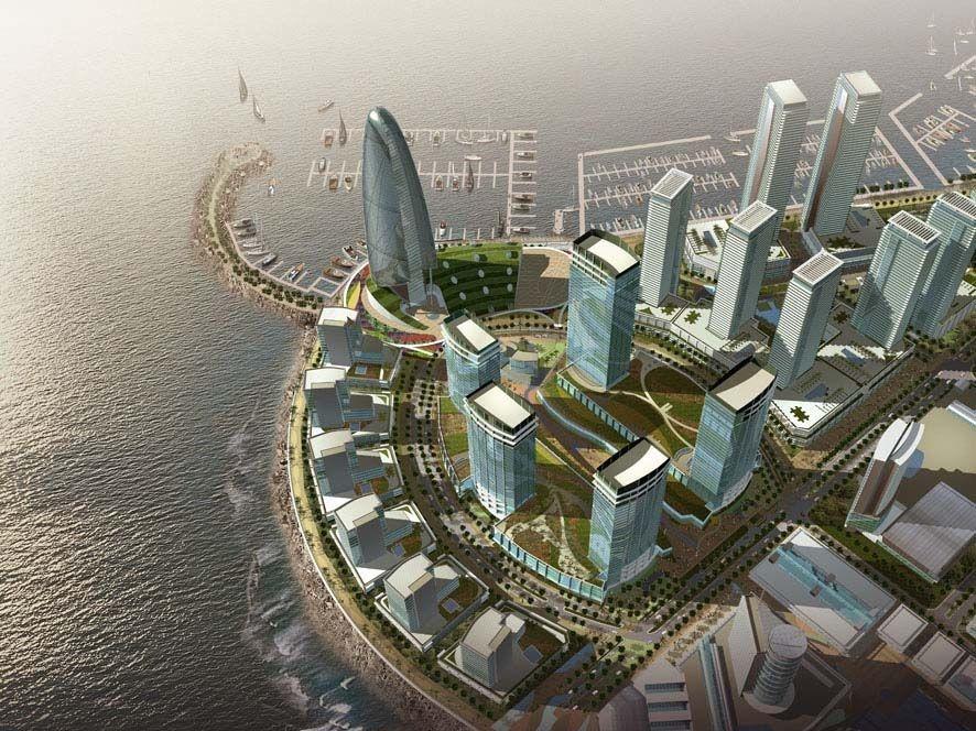 Maritime City, Masterplans, Dubai