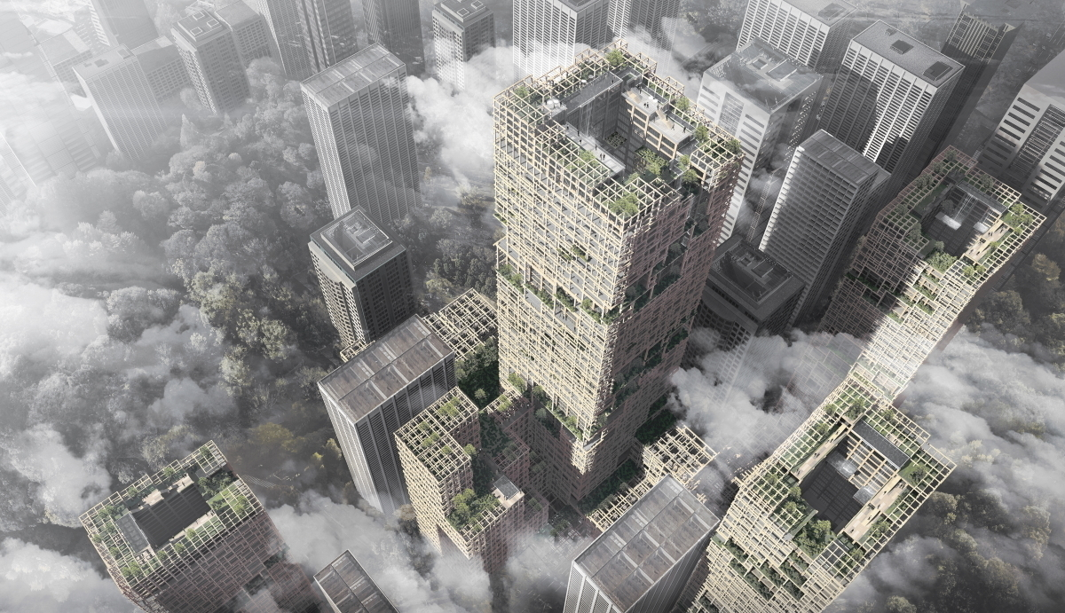 Nikken Sekkei, Wooden skyscapers, Skyscrapers, Sustainability, Cityscape Global, Cityscape Global 2019