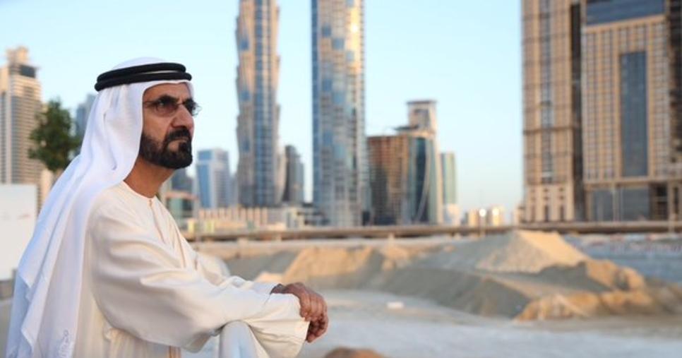 HH Sheikh Mohammed, Al Quoz, Dubai