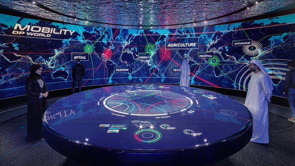 Expo 2020 Dubai, DP World, Dubai pavilion