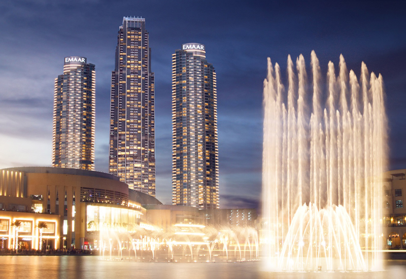 Emaar, Address Fountain Views, Atkins