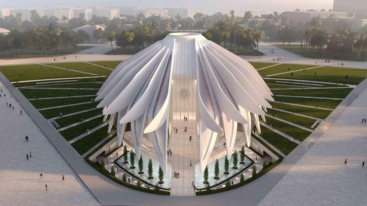 Expo 2020 Dubai, Architecture