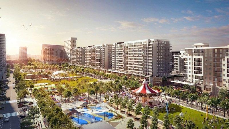 Town Square Park, Dubai, Real estate