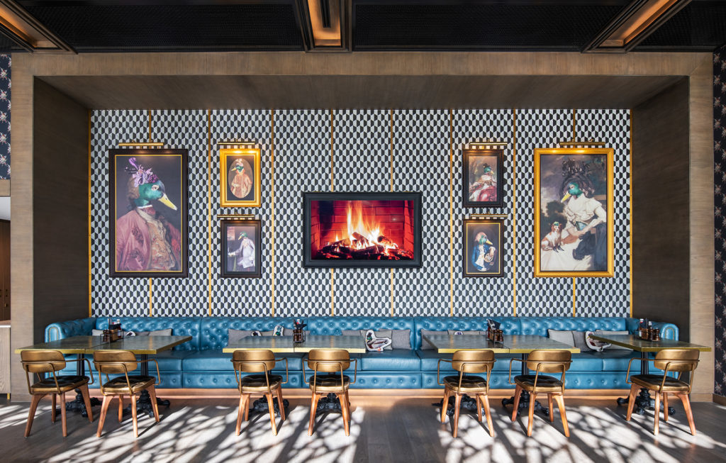 Wilson Associates, Dubai F&B design, Bar design