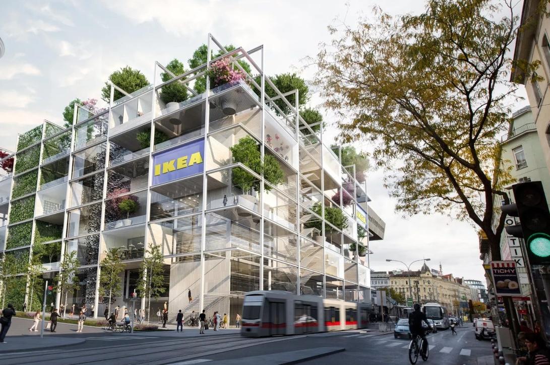 Ikea, Vienna, Sustainability, Retail design