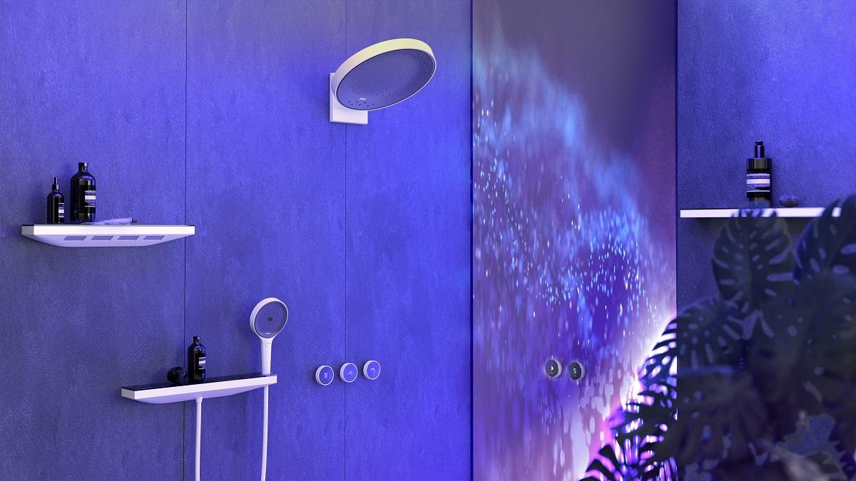 Hanshgrohe's Rainfinity shower