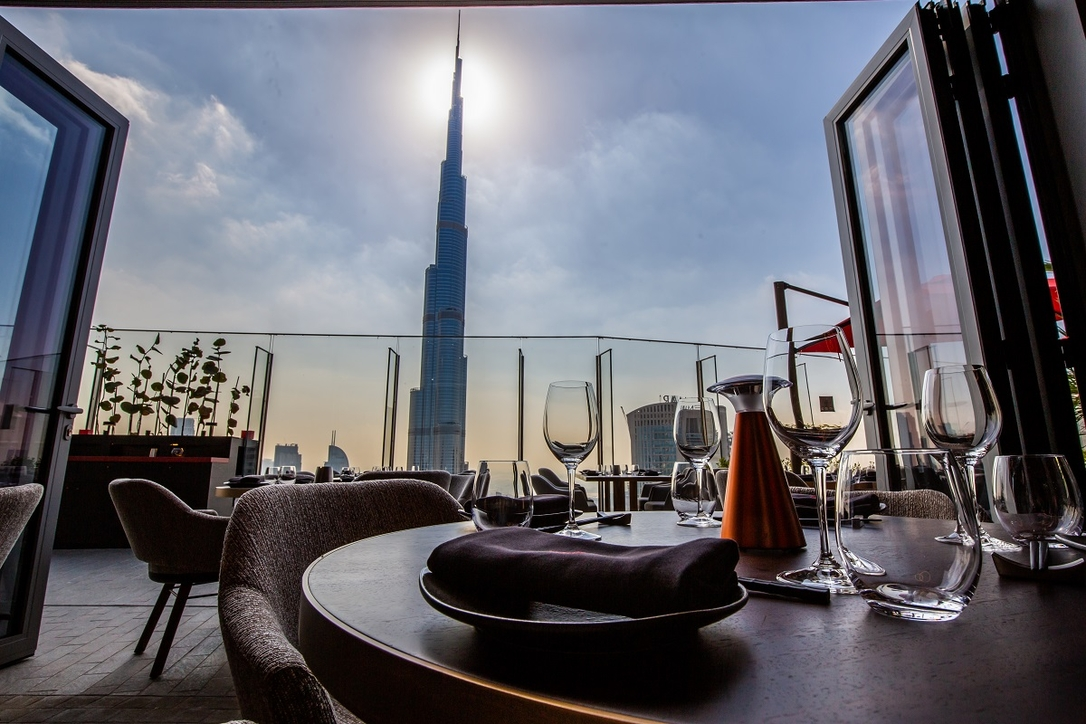 Ce la  vi, Restaurant design, Prospect Design, PDI, Downtown Dubai, Address Sky View