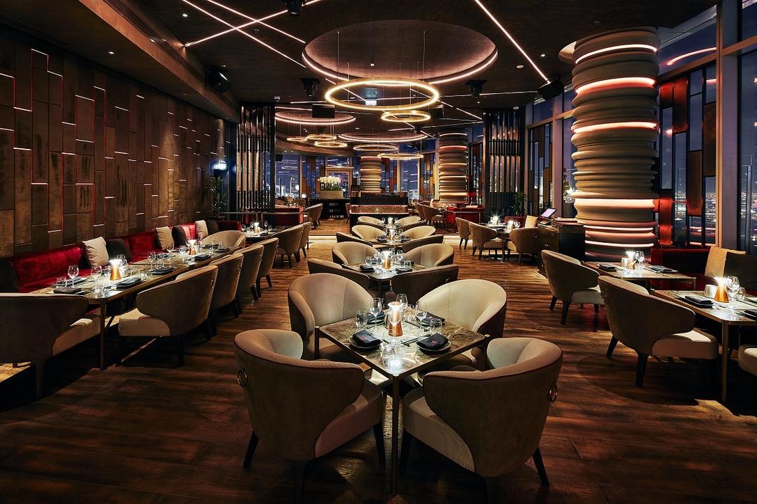 Ce la  vi, Restaurant design, Prospect Design, PDI, Downtown Dubai, Address Sky View