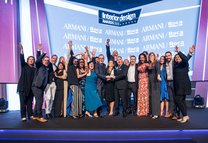 Celebrations at the Commercial Interior Design Awards 2019
