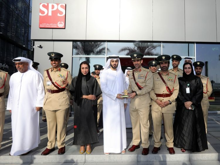 D3, Smart police station, Dubai design distrit
