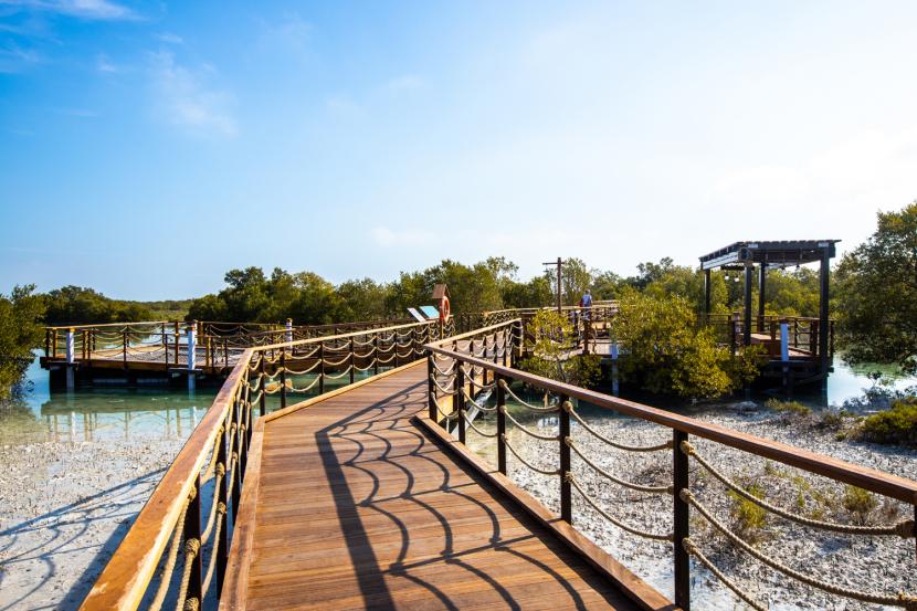 GHD, Abu Dhabi, Mangrove park, Jubail mangrove park, Jubail island, Qasr Al Hosn