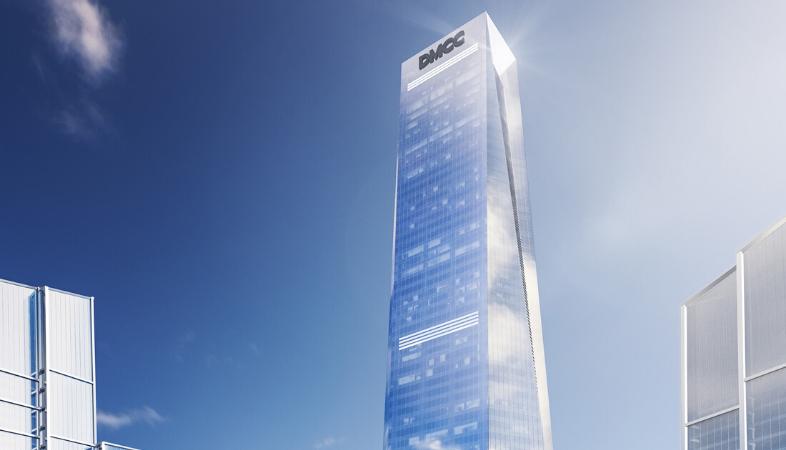 Adrian Smith + Gordon Gill Architecture, Uptown Tower, DMCC, Dubai, Supertall towers